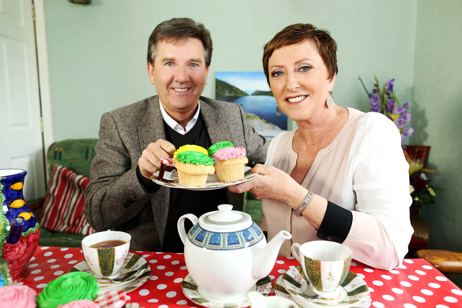 "02/06/2015 NO REPRO FEE, MAXWELLS DUBLIN. Pictured are Daniel and Majella O'Donnell at Willow House B&B, Drumcondra, Dublin 9. UTV Ireland today announced that filming is set to begin on a brand new travel show starring Daniel O'Donnell and his wife Majella.  The new six-part series called 'Daniel and Majella's B&B Road Trip' is a reality travel show with a difference. The popular couple will take to the road visiting areas of natural beauty and taking in all that Ireland has to offer, while staying only in B&B accommodation throughout their trip. Filming will commence in early July and the show will air on UTV Ireland later this year PIC: NO FEE, MAXWELLS. UTV Ireland announces Daniel and Majella's B&B Road Trip UTV Ireland today announced that filming is set to begin on a brand new travel show starring Daniel and Majella O'Donnell. The new six-part series called 'Daniel and Majella's B&B Road Trip' is a reality travel show with a difference. The popular couple will take to the road visiting areas of natural beauty and taking in all that Ireland has to offer, while staying only in B&B accommodation throughout their trip. Their B&B hosts will act as tour guides, showing them around the area and, as well as sharing stories across the dinner and breakfast table, local performers and characters will make cameo appearances for evenings of 'craic agus ceoil' with entertainment from Daniel and other local performers. Speaking about the launch of the new series, Mary Curtis, UTV Ireland's Head of Channel, said: ""Daniel and Majella are hugely popular with Irish audiences and they are a fantastic couple who complement each other perfectly. Throughout the show, we will get to know them better as a couple, whilst seeing them as we have never seen them before. Their warm and fun personalities make them ideal hosts for this series. We are delighted to be welcoming Daniel and Majella to the UTV Ireland schedule and I think this series will resonate w"